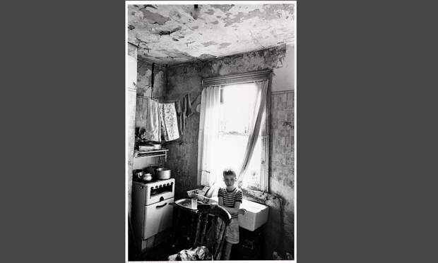 Англия, Бирмингем, 1970 год. Центральные водопровод и канализацию в доходные дома в Англии начали проводить в 70-х годах прошлого века. Фото с сайта e-news.su.