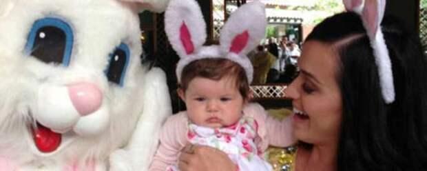 Кэти Перри рассказала о своей 9-месячной дочери