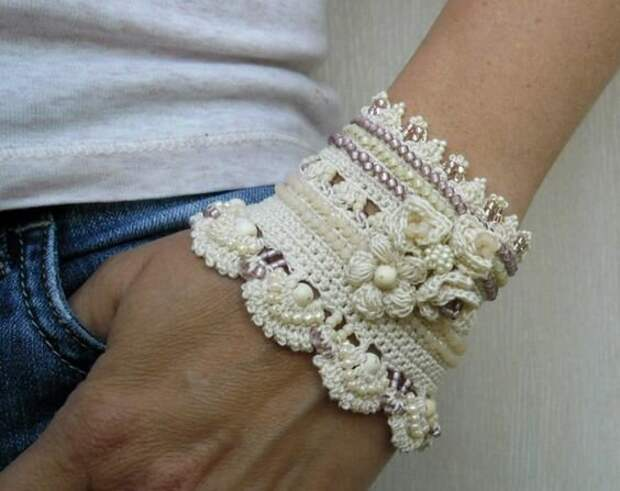 10 необычных вязаных украшений. Взгляните на эту красоту!
