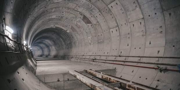 Перегонные тоннели будущей станции «Физтех» готовы на 55%