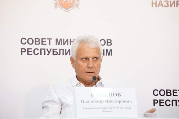 Сбои графика и аварии: Гендиректор «Воды Крыма рассказал о будущих проблемах подачи воды по расписанию