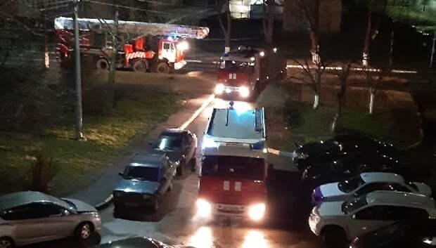 Пожар в доме Подольска произошел из‑за неисправных счетчиков электроэнергии