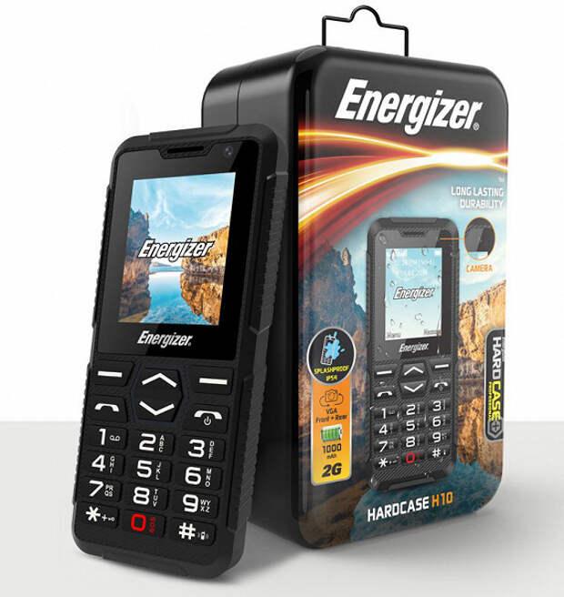 В хозяйстве пригодится. Защищенный телефон Energizer Hardcase H10 поставляется в металлической упаковке