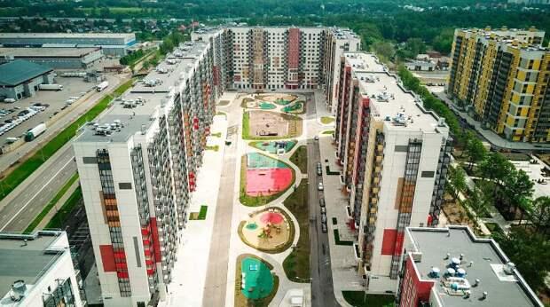 Жилые районы Москвы преображаются