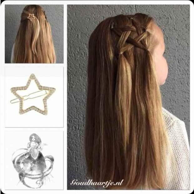 Звезда из волос