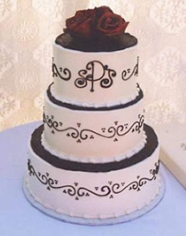 Свадебные торты, какими их заказывали молодожены и тот ужас, который они получили