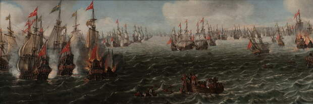 Сражение у острова Фемарн - Катастрофа датского флота | Warspot.ru