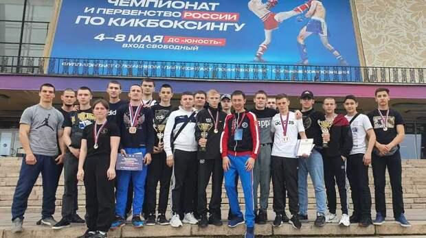 Волгоградские кикбоксеры вернулись снаградами изЧелябинска