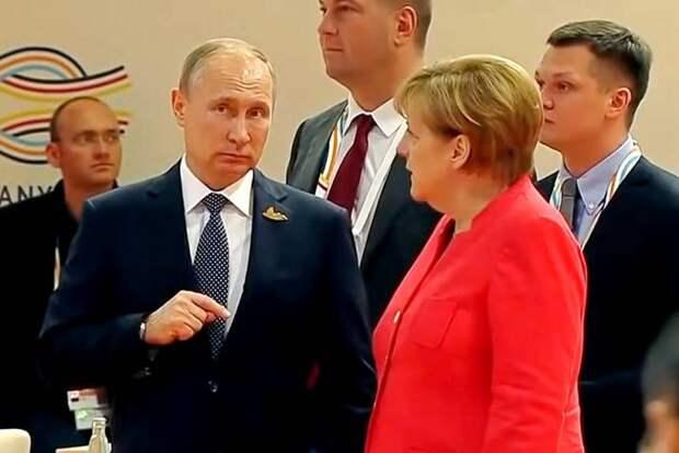«Путин открыл «газовый кран» только после того, как Меркель сняла с него вину за кризис» – европейские СМИ