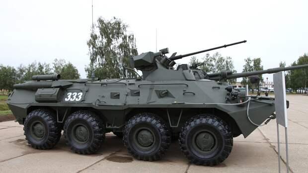 Мотострелки на Дальнем Востоке получат современные БТР-82АМ