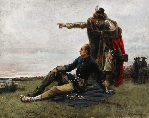 """Как украинцы и белорусы встретили шведских """"освободителей"""". 1708-1709 г."""