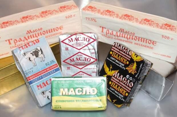 Согласно ГОСТУ, сливочное масло может быть традиционное, любительское или крестьянское / Фото: peterburg.milknet.ru