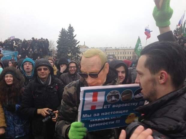 Поколение Путина взбунтовалось