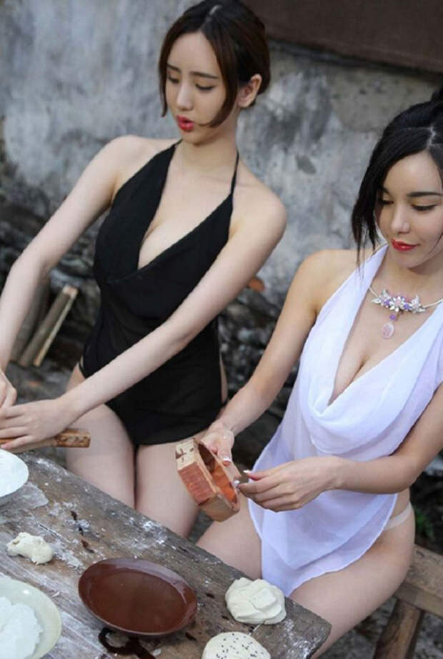 Вот так выглядят обычные девушки из китайской деревни. Срочно переезжаем!