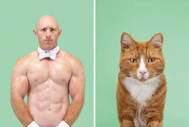 Фотограф делает снимки людей икотов, которые выглядят как двойники | Канобу - Изображение 16