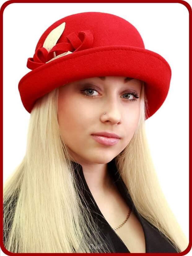 Элегантная фетровая шляпа