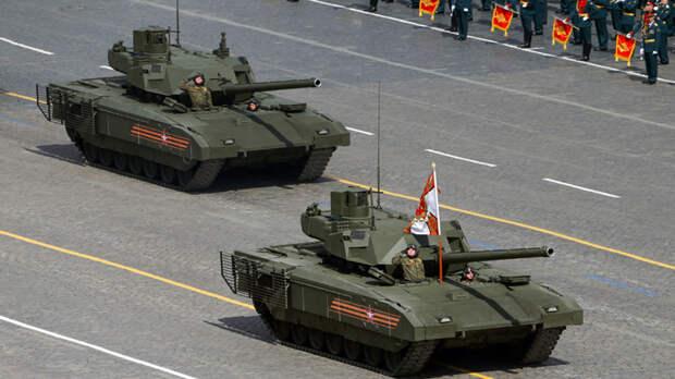 Лучшее вооружение на параде Победы в Москве назвал National Interest