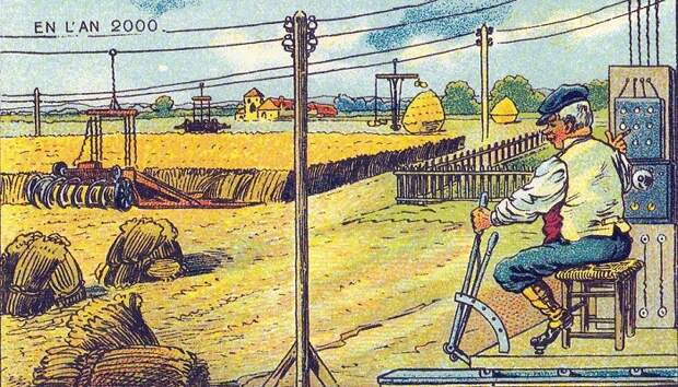 Такая мечта фермеров еще не сбылась, но как знать... | Фото: tjournal.ru.