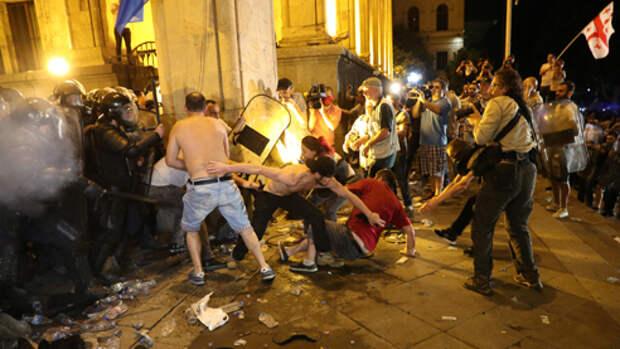 Протесты в Тбилиси: причины и последствия
