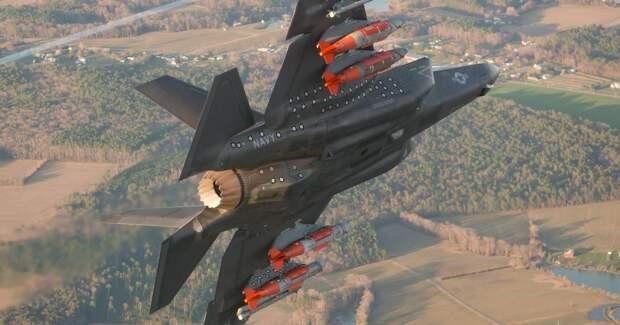 В США показали на что способен F-35А в «режиме зверя»