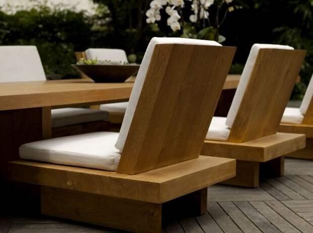Стулья из массива дерева – модный атрибут стильного интерьера (38 фото)