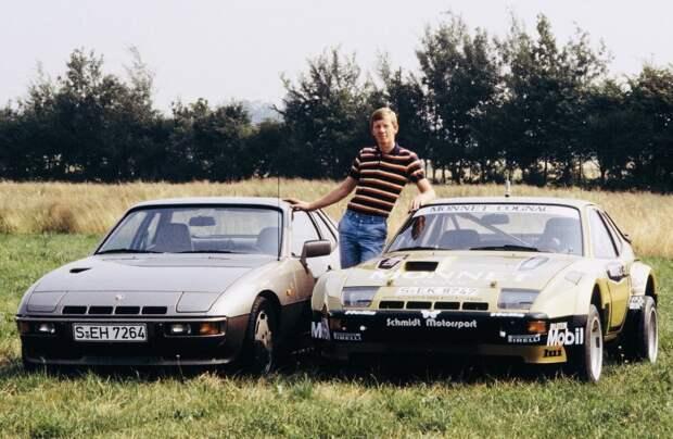 Раллийный Porsche 924 Carrera GTS 1981 гонщика Вальтера Рёрля