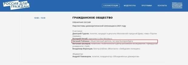 Ходорковский будет продвигать в Госдуму одиозного Ройзмана
