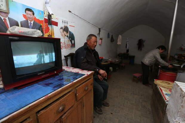 6 удивительных фото подземных поселков в Китае