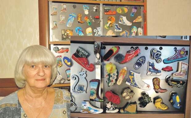 Жительница Бибирева собирает необычные магниты