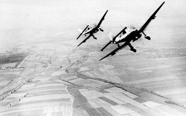 Немецкий пикировщик Ю-87 — самолет с парадоксальной историей