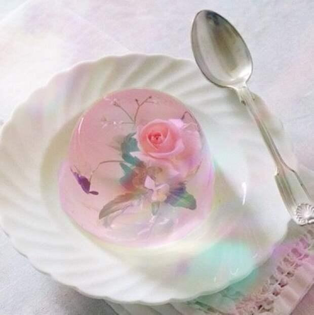 Цветочное желе (подборка)