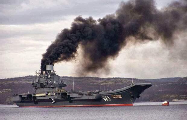 «Адмирал Кузнецов» перестанет дымить «как паровоз»