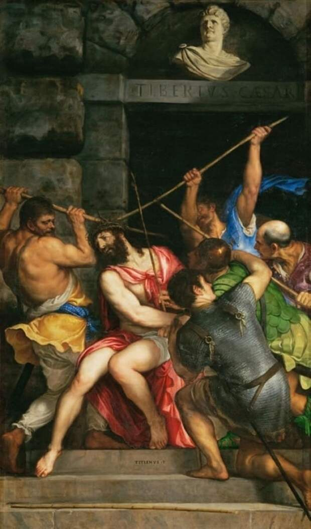 художник Тициан Вечеллио (Tiziano Vecellio) картины – 15