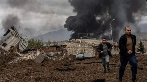 Не будем показывать пальцем, но в срыве перемирия в Карабахе виноват кое-кто из НАТО (видео)