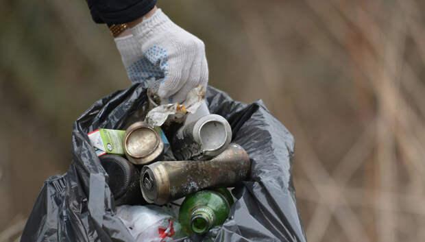 Субботник в лесопарке «Сосновый бор» в Подольске отменили из‑за плохой погоды
