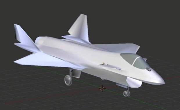 Модель российского однодвигательного истребителя случайно попала в кадр