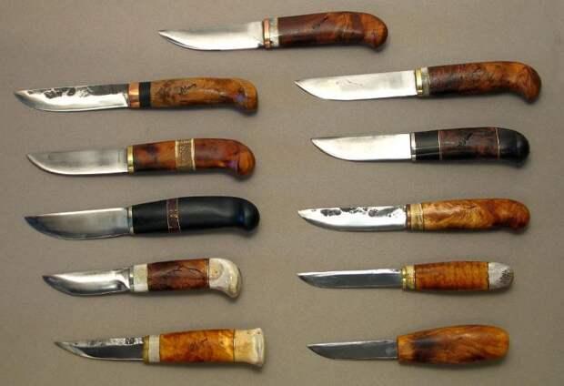 Финка: классический финский нож типов пуукко и леуку