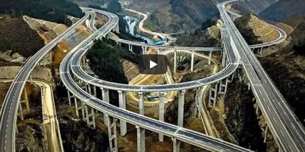 750 метров в час – как китайцы строят дороги