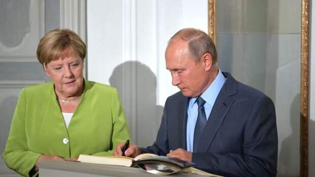Путин пока не планирует обсуждать с Меркель «отравление» Навального
