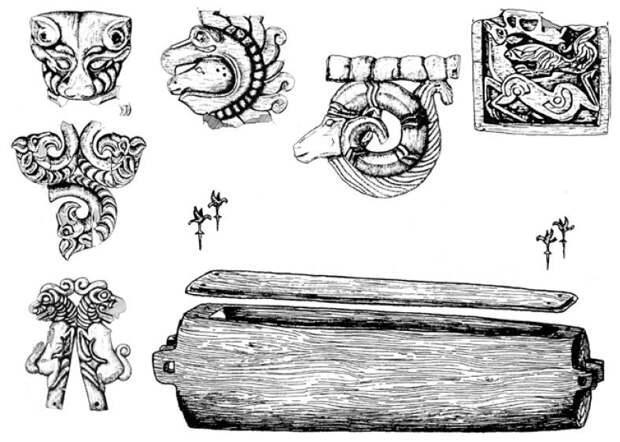 Археологические памятники Восточного Казахстана