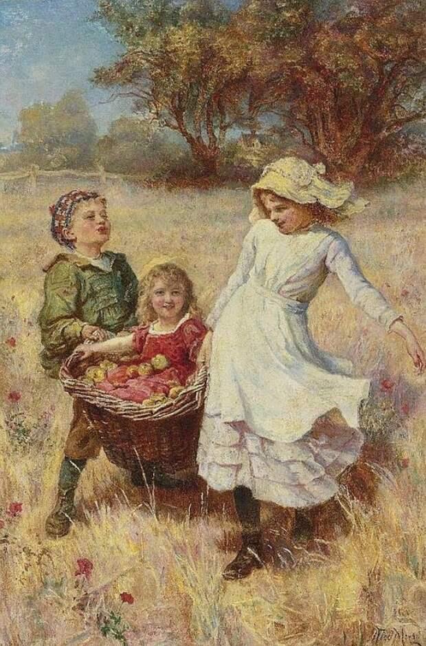 художник Фредерик Морган (Frederick Morgan) картины – 14