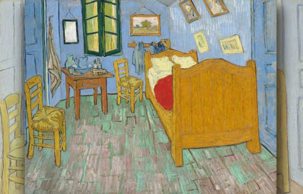 Какие тайны Ван Гога хранит самая известная спальня в истории искусства