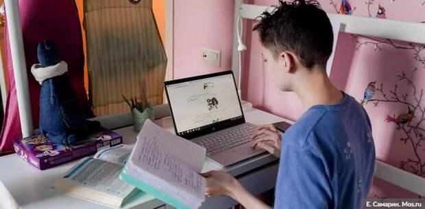 Для снижения заболеваемости в Москве продлена дистанционка для 6-11 классов Фото: Е. Самарин mos.ru