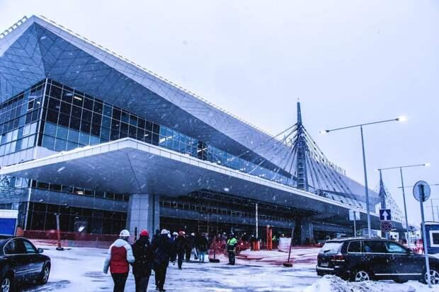 Открытие нового терминала в аэропорту Красноярска