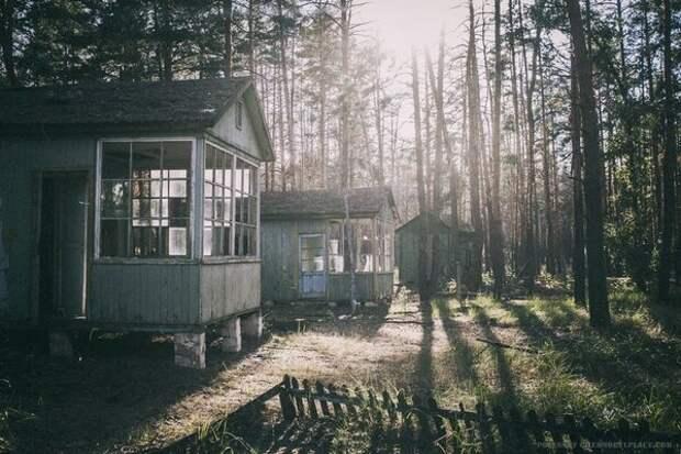 Пионерлагерь Изумрудное Чернобыль