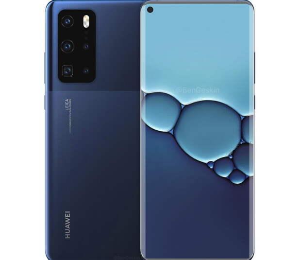 Huawei P40 Pro - мощная новинка популярного бренда
