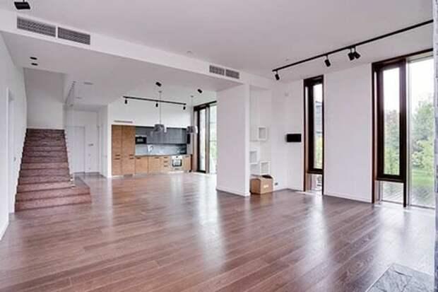 интерьер во всех домах сделан одинаково