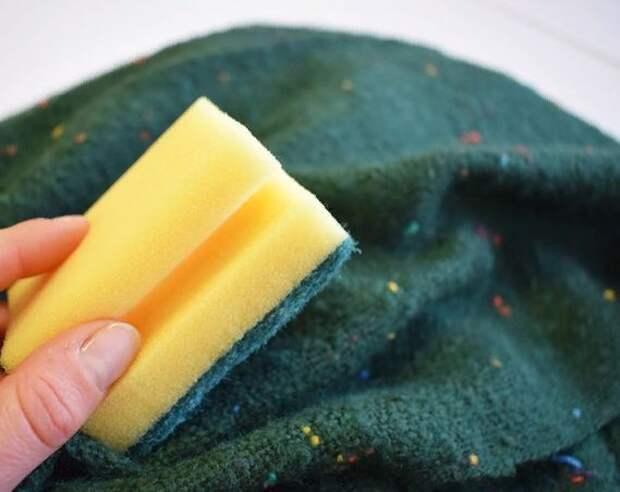 Использование губки для посуды в быту