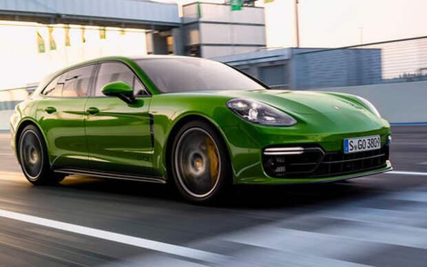 Porsche Panamera GTS — тест-драйв с «раллийным богом» Вальтером Рёрлем