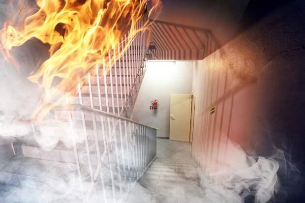 что можно делать при пожаре а что нельзя